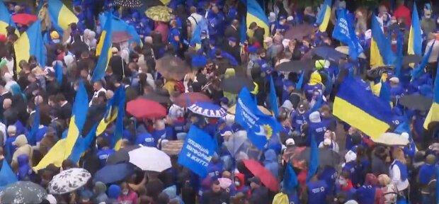 мітинг ОПЗЖ під Верховною радою 02.06