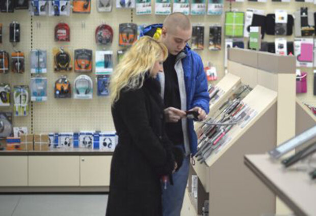Скріншот з магазину Розетка