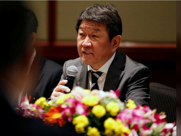 Міністр закордонних справ Японії Тошиміцу Мотегі // фото REUTERS
