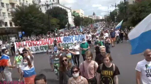 протести у Хабаровську