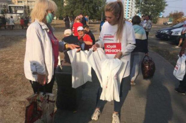 У Черкасах місцева «Батьківщина» відзначила день жалоби за загиблими на Ан-26 святковим концертом