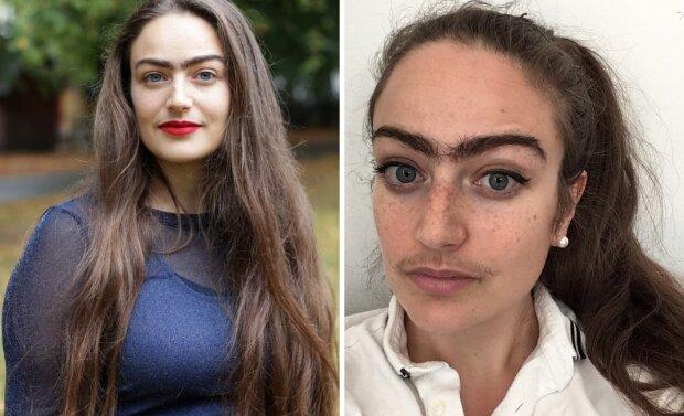 Красуня перестала голити вуса на зло чоловікам