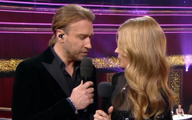 Олег Винник і Оля Фреймут, скріншот з відео