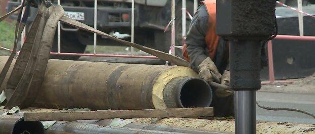 ремонт труб опалення