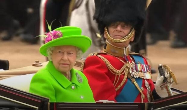 Королева Великобританії Єлизавета II і її чоловік принц Філіп