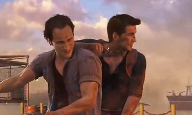 Uncharted 4 \\ кадр з гри