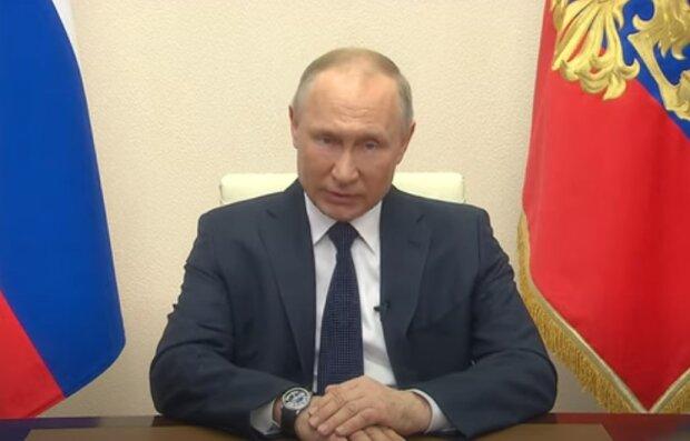 Володимир Путін. Фото: скріншот відео