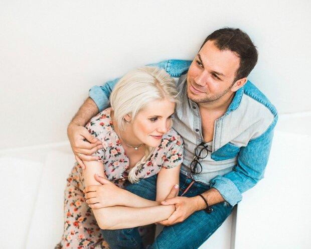 Андре Тан з колишньою дружиною