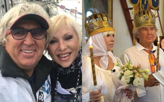 Валентина Легкоступова з чоловіком