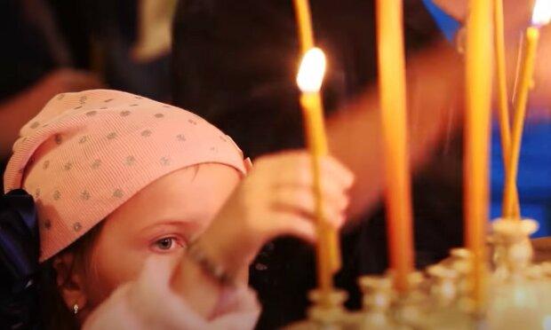 свічки, молитва, церква