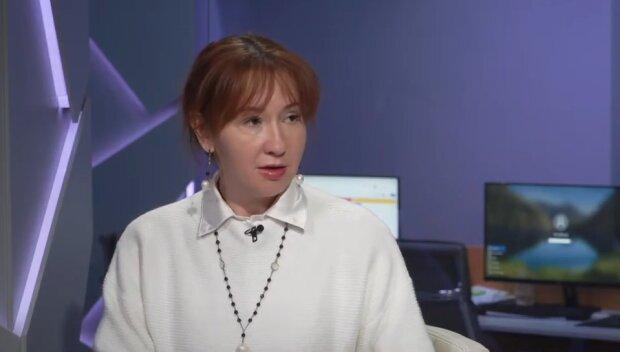 Наталія Лисневська, скріншот із відео