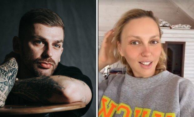 Андрій Рибак та Оля Полякова
