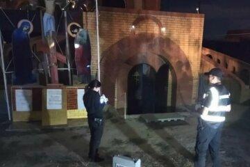 Дитина спалила церкву Московського патріархату