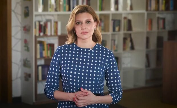 Олена Зеленська, скріншот із відео
