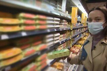 продукти, супермаркет, ціни