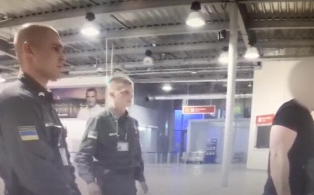 Держприкордонслужба в аеропорту Бориспіль