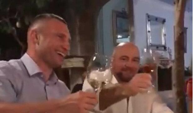 Віталій Кличко та Вадим Столар