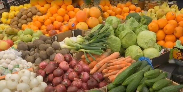 овощи, базар