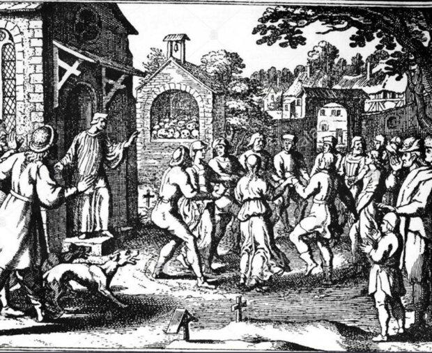Танцювальна манія у середньовічній Німеччині