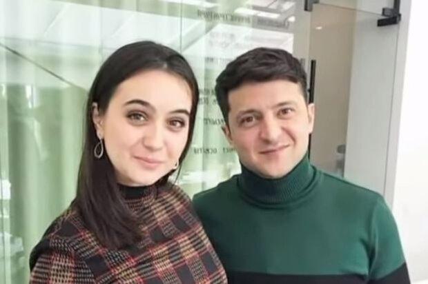 Юлія Мендель та Володимир Зеленський