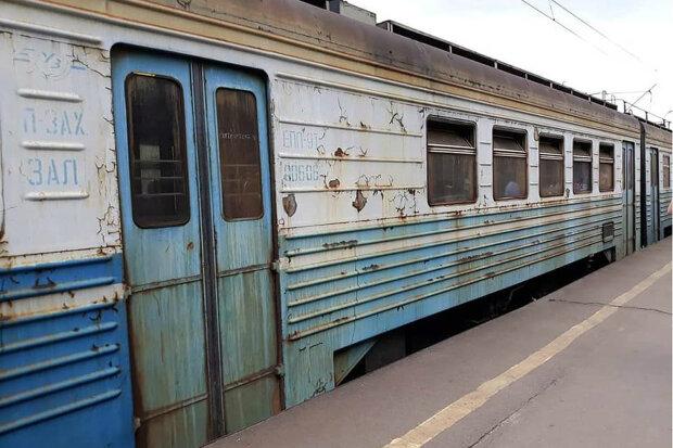 іржавий поїзд