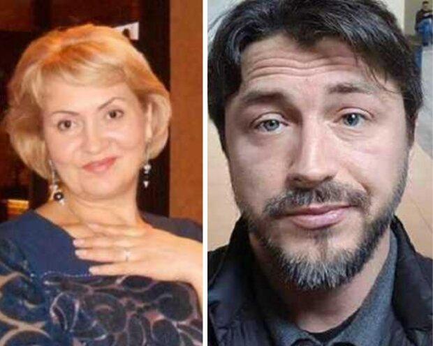 Сергій Притула та його теща Лілія Сопельник