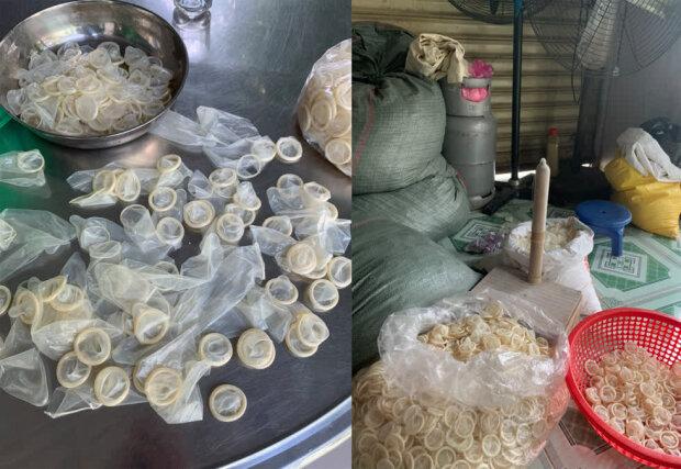 надавали товарного вигляду використаним презервативам і повторно їх продавали