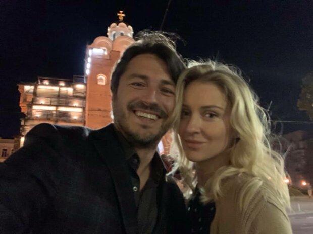 Сергій Притула із дружиною