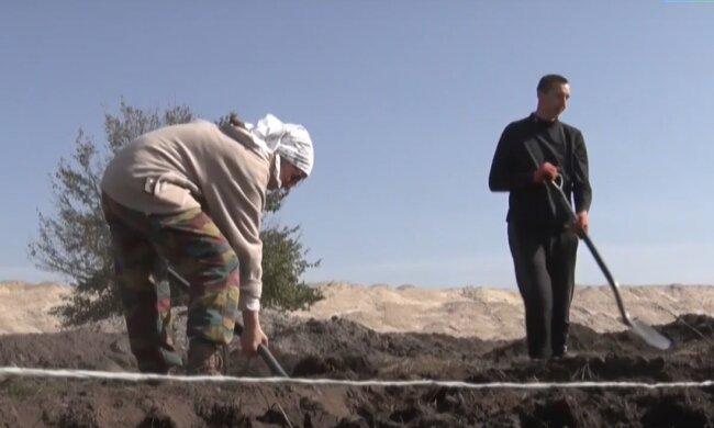 Археологічні розкопки під Дніпром