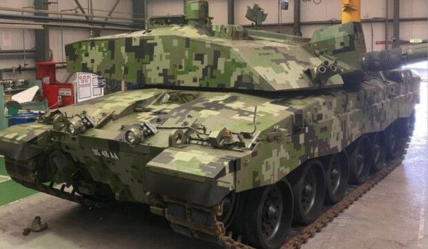 Британці представили нове маскування танків