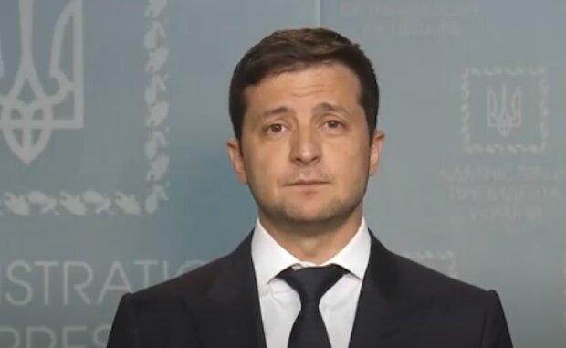 Володимир Зеленський. Фото: скріншот відео