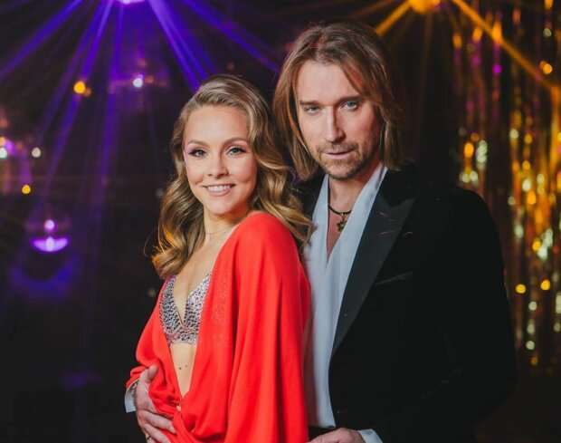 Олена Шоптенко та Олег Винник