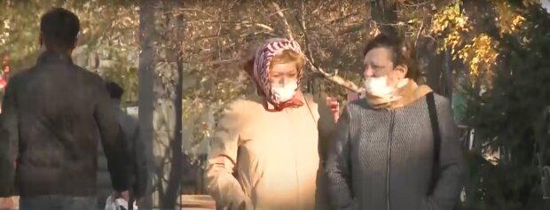 Карантин в Україні, скріншот з відео