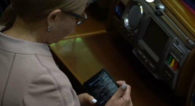 Глава партії «Батьківщина» Юлія Тимошенко