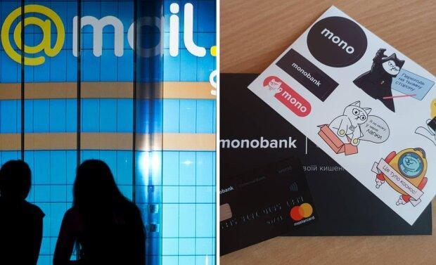 Монобанк і Мейл.ру