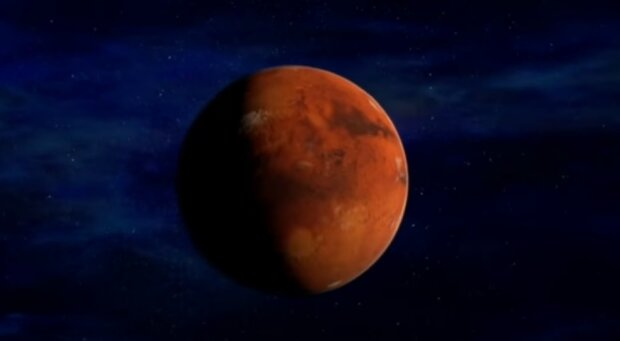 Марс. Фото: скріншот відео