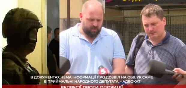 Адвокаты: Обыски в приемной Медведчука происходили с вопиющим нарушением законодательства