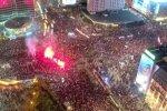 Протести у Польщі, скріншот з відео