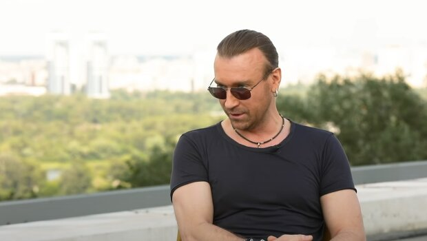 Олег Винник, скріншот із відео