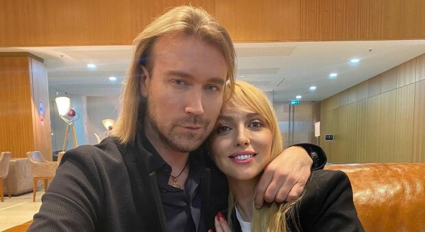 Оля Полякова з Олегом Винником