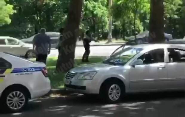 у Києві поліцейських атакували бійцівські пси