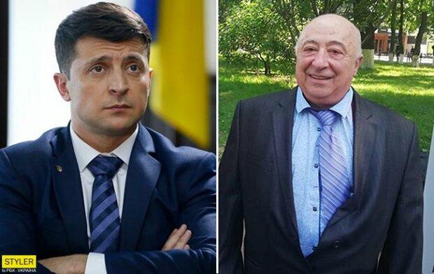 Володимир та Олександр Зеленські