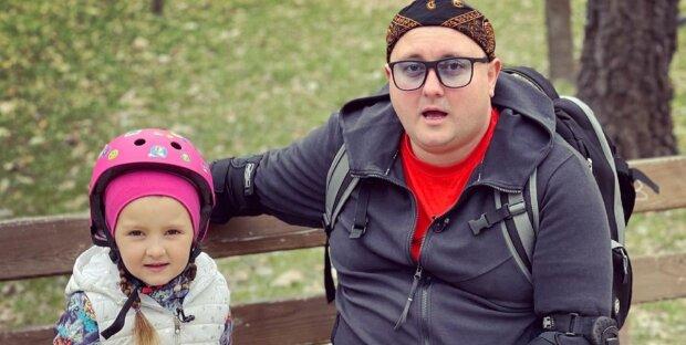 Фото Юрія Ткача і його дочки