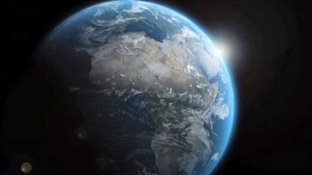 Планета Земля. Фото: скріншот відео.