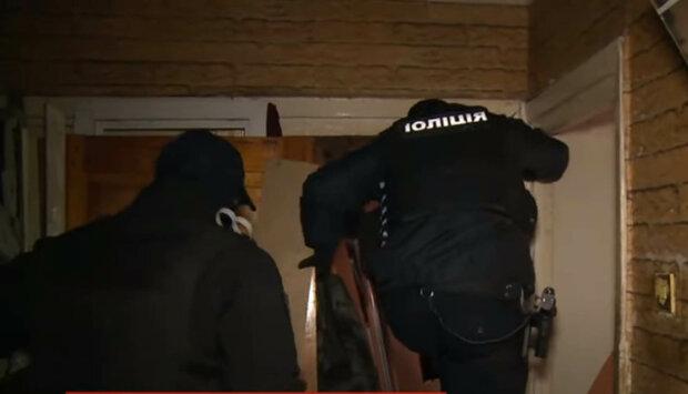 штурм квартири поліцією
