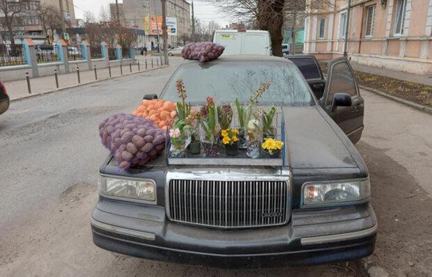 українець торгував овочами з Lincoln