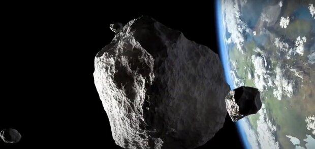 Астероїд і Земля