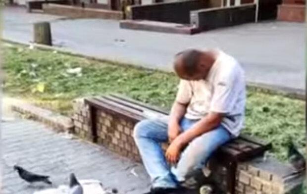голуби з'їли товар безтямного продавця