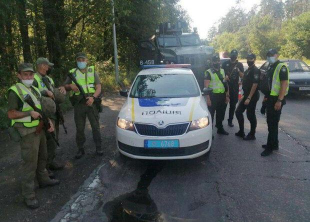 До Києва вводять додаткові загони поліції та нацгвардії