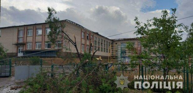 Наслідки урагану на Херсонщині